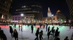 There's Nothing Better Than Buffalo's Magical Ice Skating Rink Come Winter