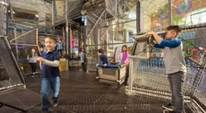 The Most Epic Indoor Playground In Maryland Will Bring Out The Kid In Everyone