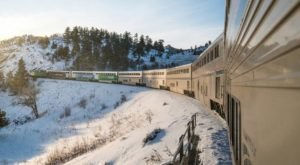 This Beautiful Train Ride Will Take You Straight To An Enchanting Ski Resort Near Denver