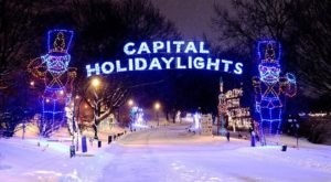 Take An Enchanting Winter Walk Through Capital Holiday Lights In New York