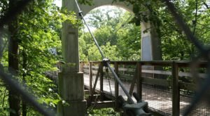 The Stomach-Dropping Suspended Bridge Walk You Can Only Find In Wisconsin