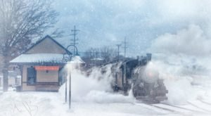 This Santa Express Train Ride Is Picture-Perfect For A Holiday Excursion in Pennsylvania