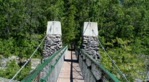 The Stomach-Dropping Suspended Bridge Walk You Can Only Find In Minnesota