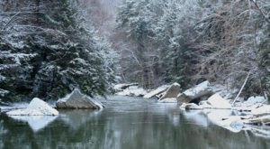 10 Places in Pennsylvania That Will Make You Feel As Though You've Entered A Winter Wonderland