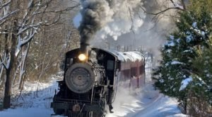 Santa's Steam Train Ride Through Pennsylvania is Simply Spectacular