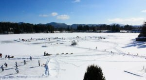 The Amazing Natural Ice Skating Rink In New York You'll Want To Visit