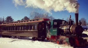 The North Pole Train Ride In Maine That Will Take You On An Unforgettable Adventure