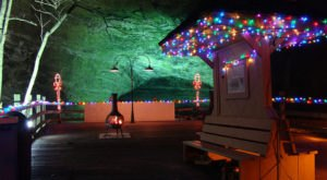 Visit Natural Tunnel,  A Unique Christmas Cave In Virginia This Season