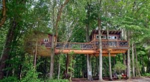 The Secluded Glampground Near Charlotte That Will Take You A Million Miles Away From It All