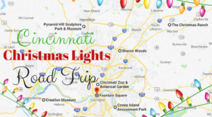 The Christmas Lights Road Trip Around Cincinnati That's Nothing Short Of Magical