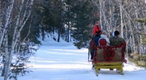 Take This One Of A Kind Sleigh Ride Through South Dakota's Winter Wonderland
