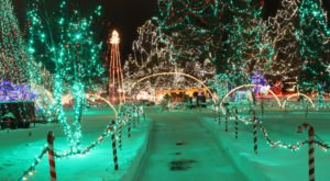 Take An Enchanting Winter Walk Through La Crosse's Rotary Lights In Wisconsin