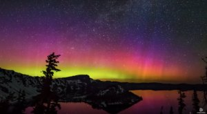 The One Mesmerizing Place In Oregon To See The Northern Lights