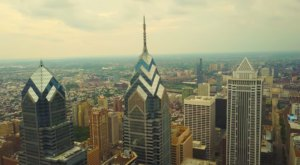 What This Drone Footage Caught In Philadelphia Will Drop Your Jaw