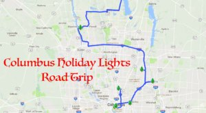 The Christmas Lights Road Trip Around Columbus That's Nothing Short Of Magical