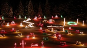 This Spectacular New Hampshire Light Display will Put You in the Christmas Spirit