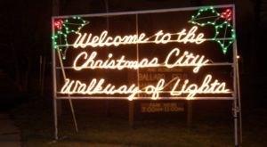 Take An Enchanting Winter Walk Through Christmas City In Indiana