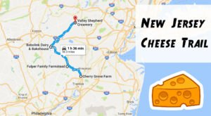 Take This Cheese Trail Through New Jersey For The Most Delicious Day Trip Ever