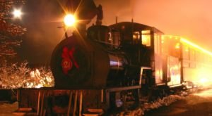 The North Pole Train Ride Near Boston That Will Take You On An Unforgettable Adventure