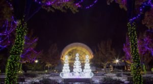 Take An Enchanting Winter Walk Through The Botanical Garden In Missouri