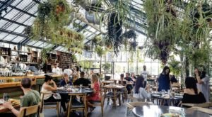 This Greenhouse Restaurant In Southern California Is The Most Enchanting Place To Eat