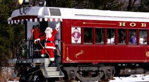The North Pole Train Ride In New Hampshire That Will Take You On An Unforgettable Adventure