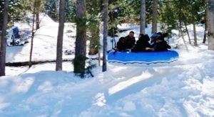 This Epic Snow Tubing Hill In New Mexico Will Give You The Winter Thrill Of A Lifetime