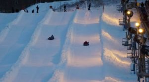 The Epic Snow Tubing Hill In Ohio, Mad River Mountain, Is Filled With Winter Thrills