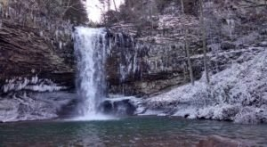 The One State Park In Georgia That Transforms Into A Magical Winter Oasis Each Year