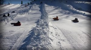 The Epic Snow Tubing Hill In Michigan, Hanson Hills, Is Filled With Winter Thrills