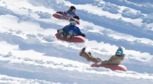 This Epic Snow Tubing Hill In New Jersey Will Give You The Winter Thrill Of A Lifetime