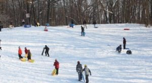 9 Epic Sledding Hills Around Detroit That Will Make Your Winter Unforgettable