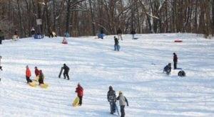 9 Epic Sledding Hills Around Detroit That Will Make Your Winter Unforgettable