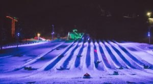 The Epic Snow Tubing Hill In Oregon, Mt. Hood Skibowl, Is Filled With Winter Thrills