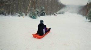 The Toboggan Park In West Virginia That Will Make Your Winter Unforgettable