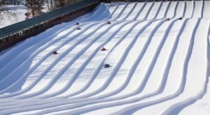 Buck Hill Snow Tubing Hill Near Minneapolis Will Give You A Winter Thrill