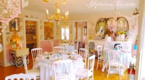 The Whimsical Tea Room In Massachusetts That's Like Something From A Storybook
