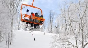 The One Spot Near Cincinnati Where There's Snow All Winter Long