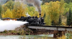 One Of The Most Unforgettable Vintage Train Routes in America Is Hiding Out Right Here In Colorado