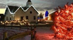 The North Dakota Farm That Transforms Into A Christmas Wonderland