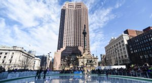 Cleveland's Public Square Has Transformed Into A Magical Winter Wonderland And You Need To Visit