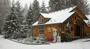 7 Enchanting Oregon Cabins Where You Can Watch The Snow Fall This Winter