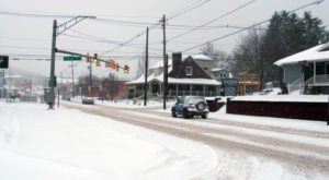 What Real Life Looks Like Inside The Snowiest Town In Maryland
