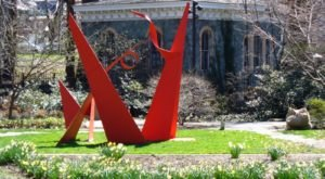 There's A Little Known Sculpture Garden In Baltimore… And It's Truly Unique