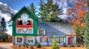 The Charming Small Town In Michigan Where Santas Flock Each Year
