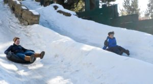 This Epic Snow Tubing Hill Around San Francisco Will Give You The Winter Thrill Of A Lifetime
