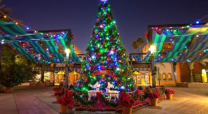 The Florida Amusement Park That Transforms Into A Winter Wonderland Every Year