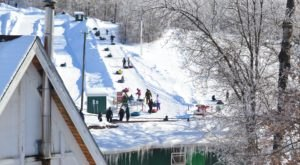 This Epic Snow Tubing Hill In North Dakota Will Give You The Winter Thrill Of A Lifetime
