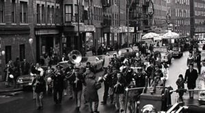 14 Nostalgic Photos Of Boston's North End Christmas Parade
