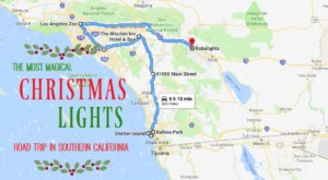 The Christmas Lights Road Trip Through Southern California That's Nothing Short Of Magical